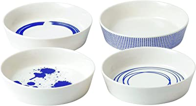 """Royal Doulton Pacific Dots Set of 4 Serving Dishes 6.3"""" Multiple"""