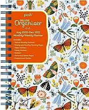 Posh: Deluxe Organizer 17-Month 2020-2021 Monthly/Weekly Planner Calendar: Garden Creatures
