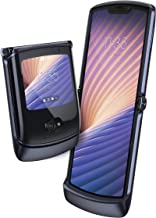 Motorola Razr 5G (2020) Dual-SIM XT2071-4 256GB ROM + 8GB RAM Factory Unlocked Flip Android Smartphone (Polished Graphite)...