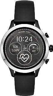 Michael Kors Access MKT5049 Smartwatch para Mujer, Correa Silicon color Negro, Caja color Negro, Multifunción
