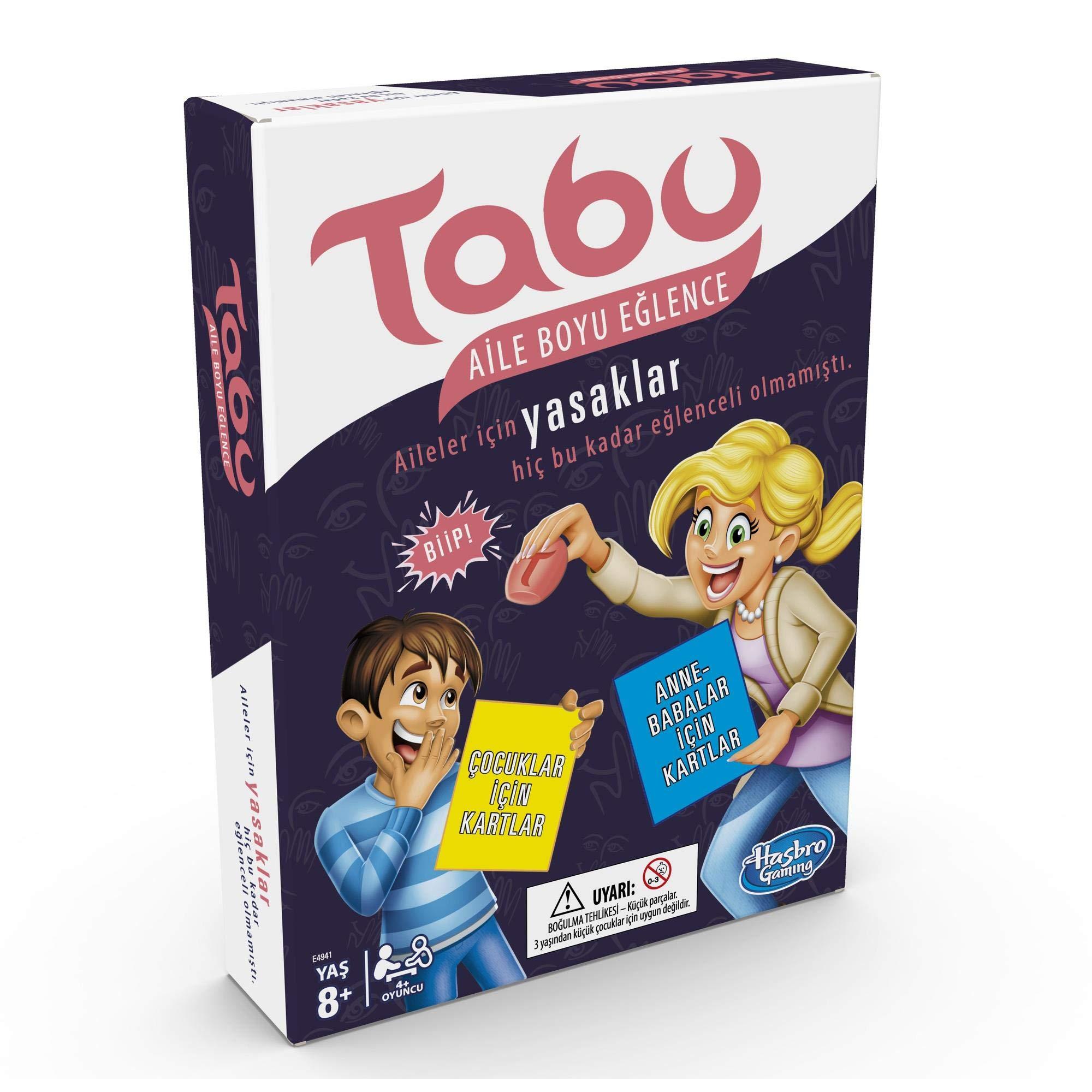 Tabu Aile Boyu Eğlence (E4941): Hasbro: Amazon.es: Juguetes y juegos