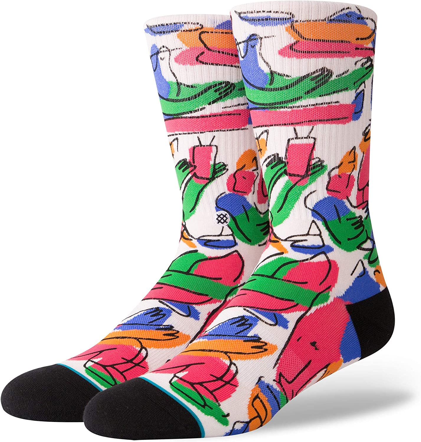 Stance In The Middle Of Somewhere Classic Crew Sock