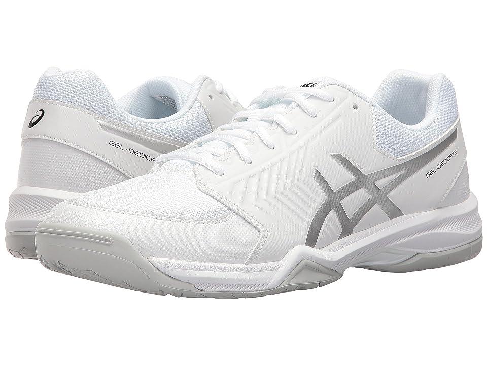 ASICS Gel-Dedicate 5 (White/Silver) Men