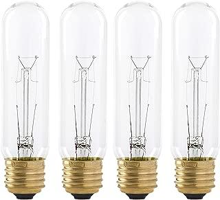 Packaging May Vary Soft White GE Lighting 44412 25-watt 180-Lumen Candelabra Base G16.5 Globe Light Bulb