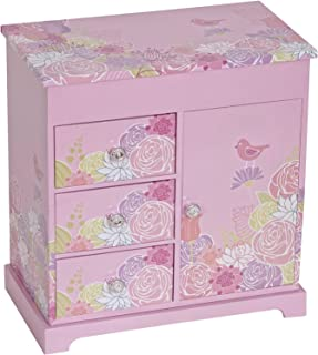 Mele Women`s Pearl Jewelry Box Pink One Size