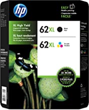 HP 62XL High Yield Ink Cartridge Combo Pack Assorted