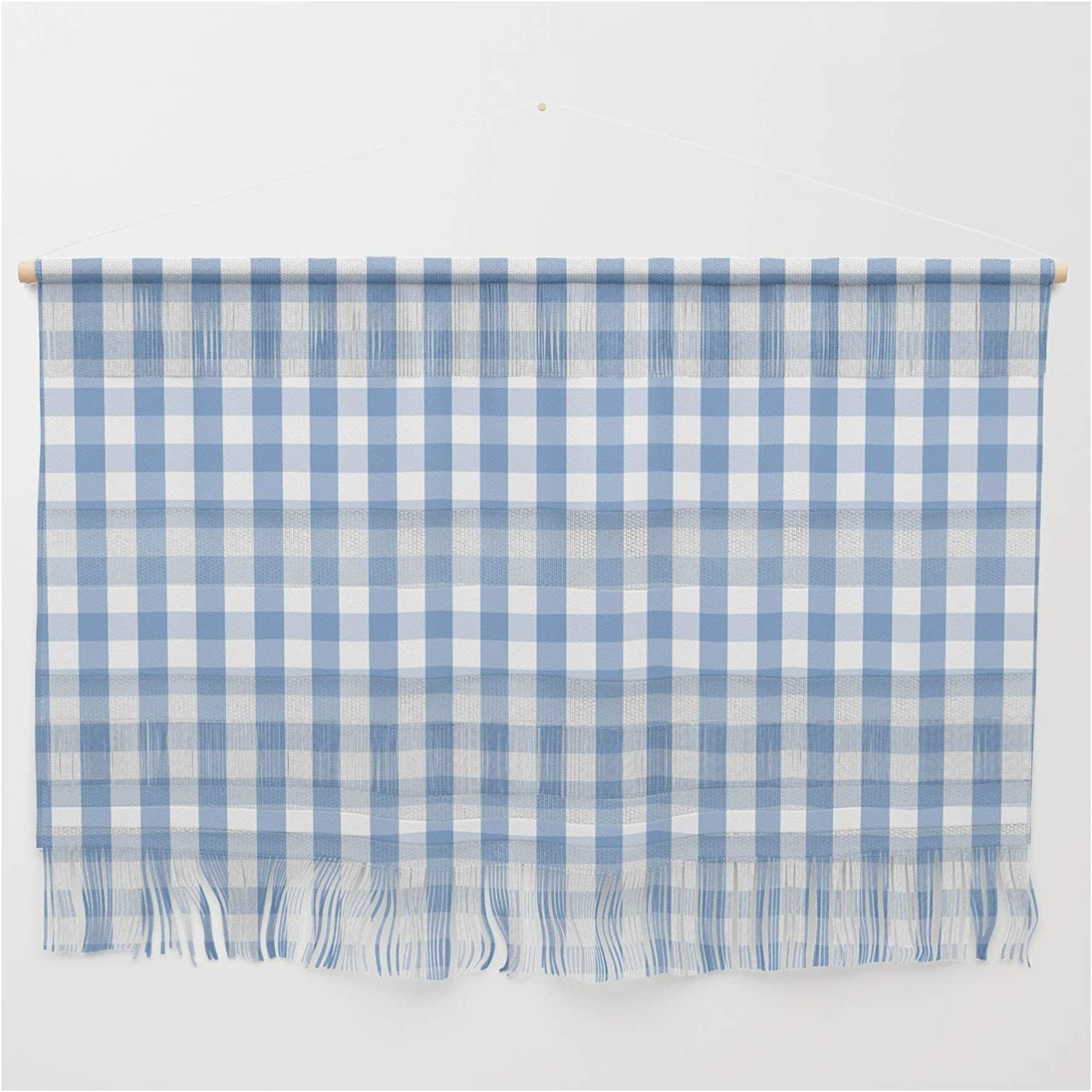 Society6 Classic Pale Blue Pastel Check Weekly update Podartist Max 69% OFF Gingham by on