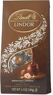 Lindt LINDOR Hazelnut Milk Chocolate Truffles, 5.1 Ounce