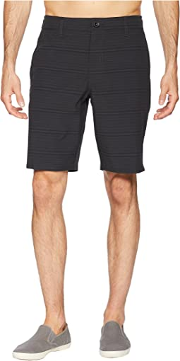 Locked Stripe Hybrid Walkshorts