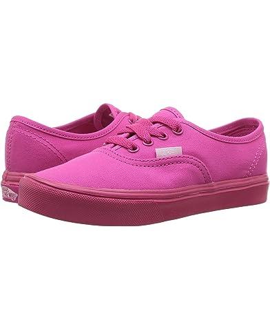 vans shoes for girls pink. vans kids authentic lite (little kid/big kid) shoes for girls pink