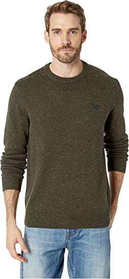 Cotton Blend-Crew Neck Sweater