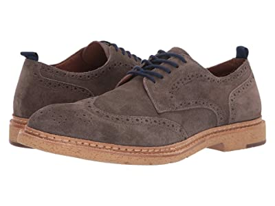 J&M EST. 1850 Pearce Wingtip (Gray) Men