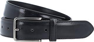 Gusti Cintura in pelle – Silva 105 cm semplice cintura in pelle con fibbia, accessorio da uomo in pelle