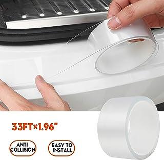 Anti-Scratch Anti-Collision Adhesive Strip Car Door Edge Guard Protector Strip Car Door Scuff Plate Protectors Transparent...