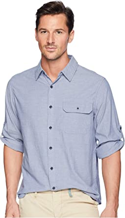 Modern Fit Eco Rich Midway Convertible Sleeve Shirt