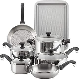 Best farberware millennium stainless steel 10-piece cookware set Reviews