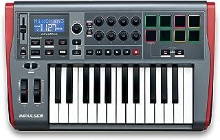 Novation Impulse 25 - Teclado MIDI (USB, 52,5 cm, 33,2 cm,