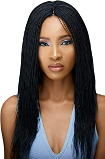 Braided Wigs, WOW BRAIDS Twisted Wigs, Micro Million Twist Wig - Color 1-18 Inches. Synthetic Hand Braided Wigs for Black ...