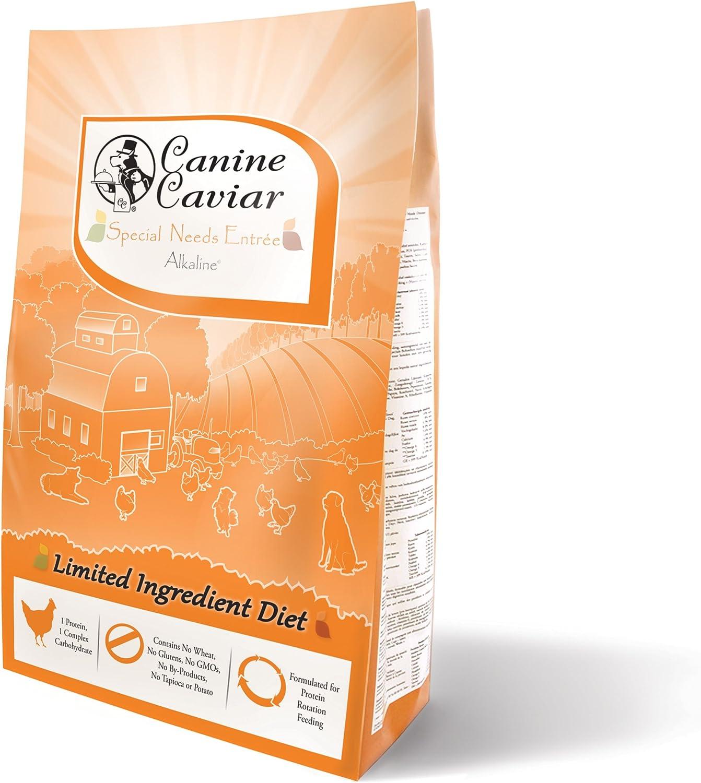 Canine Caviar Limited Ingredient Holistic Food Alkaline 1 year 5 popular warranty Dog