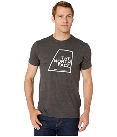 The North Face Short Sleeve Our DNA T-Shirt (TNF Dark Grey Heather) Men
