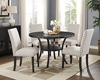 New Classic Furniture Crispin Dining Set, Natural