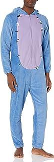 Men's Winnie The Pooh Hooded One Piece Pajama