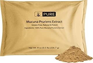 Mucuna Pruriens Extract (8 oz) 100% Pure & Natural, Non-GMO & Gluten-Free, Eco-Friendly Packaging (500 mg Serving)