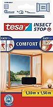 tesa Insect Stop Comfort Vliegenhor voor Ramen - Insectenhor, raamhor - Met klittenband - Snij uw eigen horraam op maat - ...