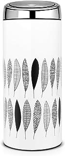 Brabantia - 483981 - Poubelle Touch Bin avec Seau Intérieur en Plastique, 30 L - Noir