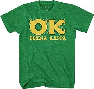 Monsters University OK Oozma Kappa Member Green T-Shirt