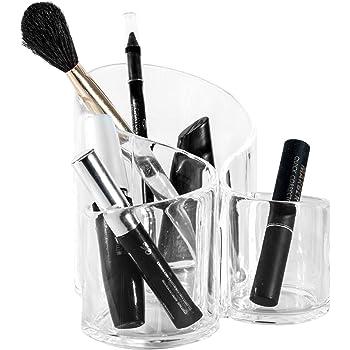 HJZ Soporte para brochas de acrílico,Estuche de Almacenamiento Organizador de Maquillaje: Amazon.es: Bricolaje y herramientas