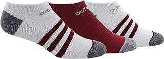 Men's 3-Stripe No Show Socks (3 Pairs)