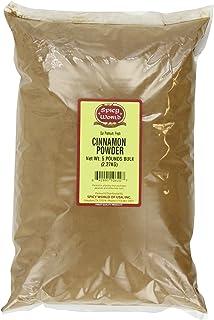 Spicy World Ground Cinnamon Powder Bulk, 5-Pounds