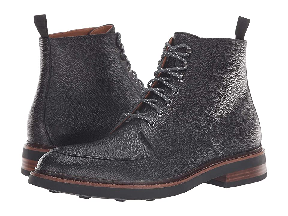 Clarks Whitman Hi (Black Interest Leather) Men