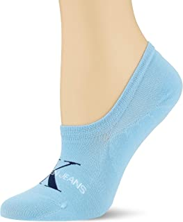 Women Liner 1p Jeans Logo Brooklyn Calcetines, azul claro, Talla única para Mujer