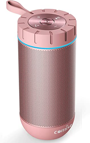 COMISO Waterproof Bluetooth Speakers Outdoor Wireless Portable Speaker with 24 Hours Playtime Superior Sound for Camp...