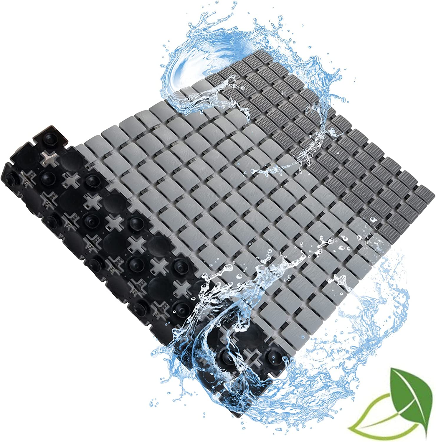 Bath Tub Mat Super beauty product restock quality top RXPULXY Non Slip Ba Free shipping anywhere in the nation with Cups Suction Shower Mats