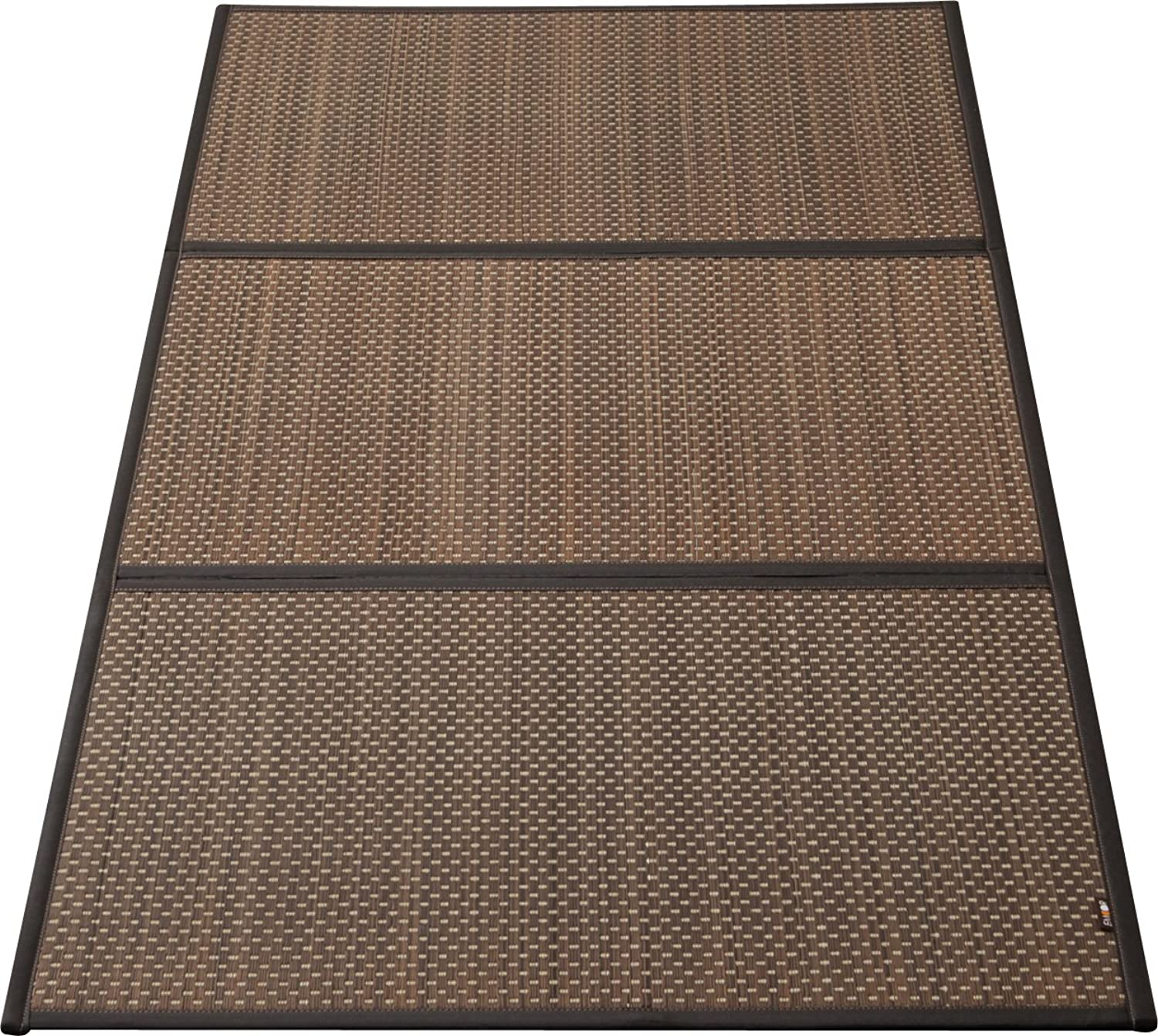 EMOOR Japanese Traditional Tatami (Igusa) Mattress, Full-Long Size (55x83), Brown, Made in Japan
