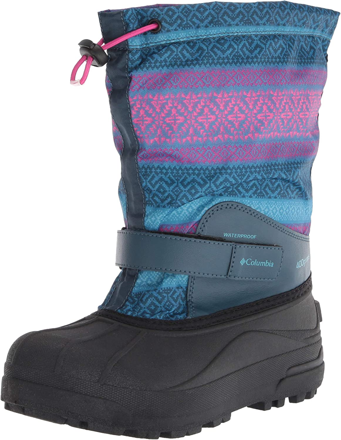 Outlet ☆ Free Shipping Columbia Unisex-Child Powderbug Forty Snow Print Under blast sales Boot