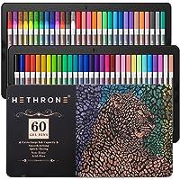 Deals on Hethrone 60 Color Gel Pens Includes 16 Neon