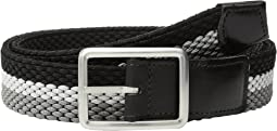 Torino Leather Co. - 35mm Italian Woven Tri-Stripe Reversible Elastic