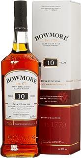 Bowmore 10 Years Old Dark & Intense Whisky mit Geschenkverpackung 1 x 1 l