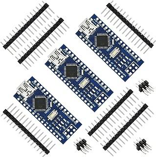 Gikfun USB Nano V3.0 ATmega328 CH340G 5V 16M Micro-Controller Board for Arduino (Pack of 3pcs) EK1620x3A