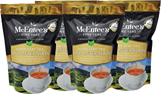 McEntee's Irish Afternoon Loose Tea - navulzakje van 250 g - GEMENGD IN IERLAND, CITRUSY, BRISK & FUL BODIED. Een traditio...