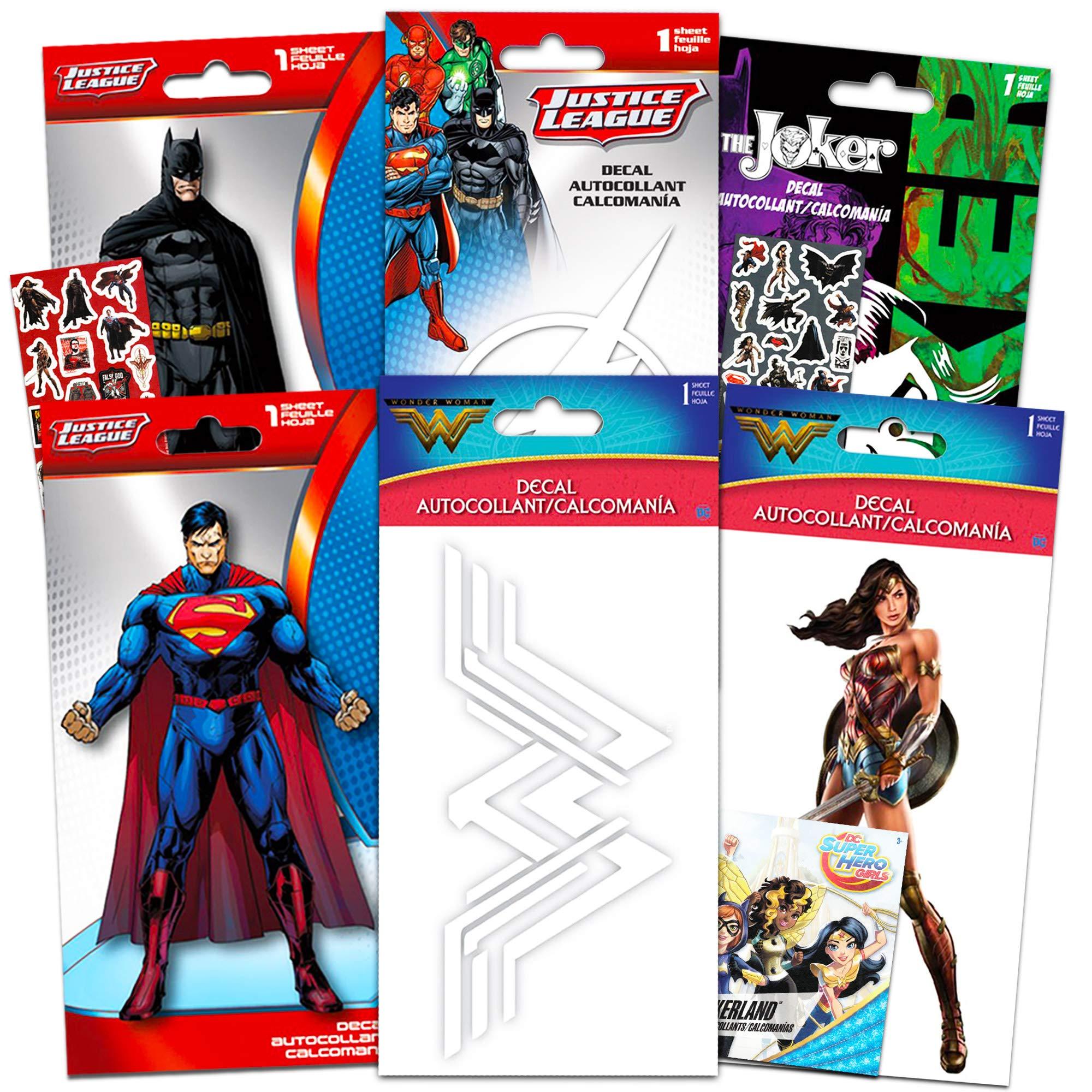 Justice League Batman Superman Flash Decal Wall Art Sticker Picture Car DC Comic