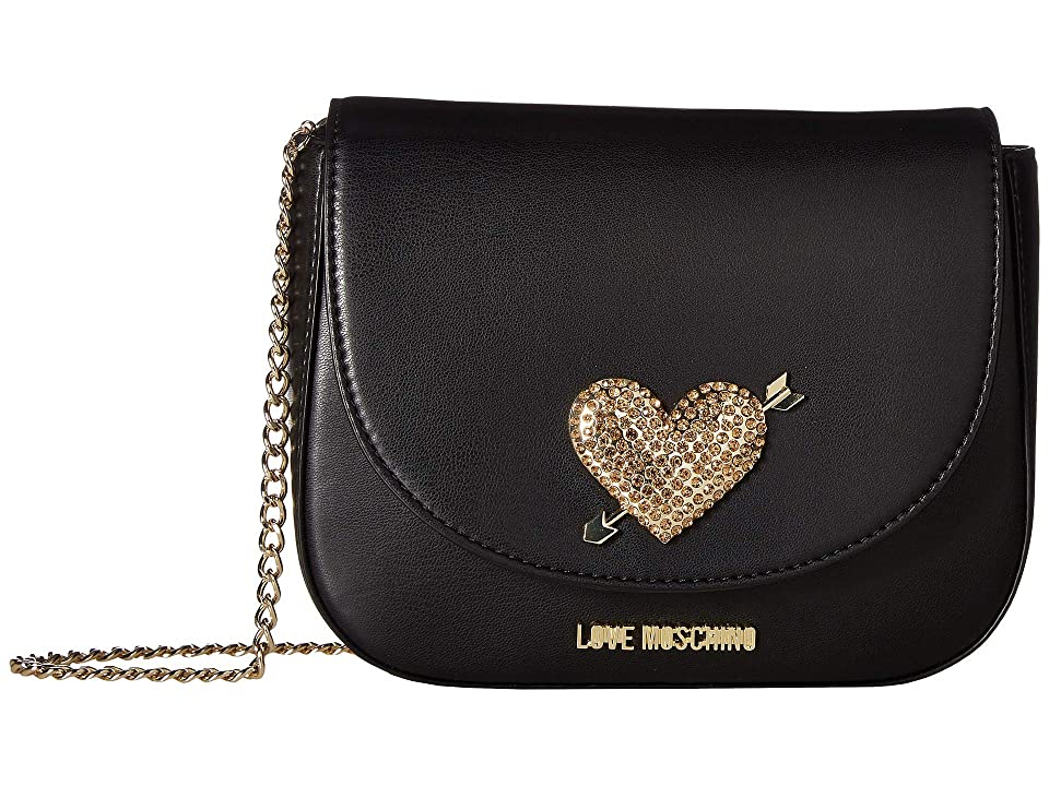 LOVE Moschino - LOVE Moschino Evening Bag with Heart Hardware