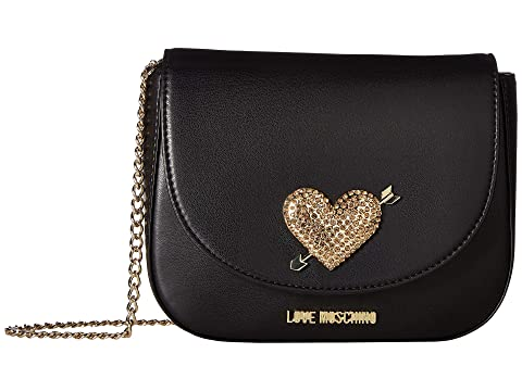 LOVE Moschino Evening Bag with Heart Hardware