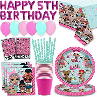 lol dolls birthday theme