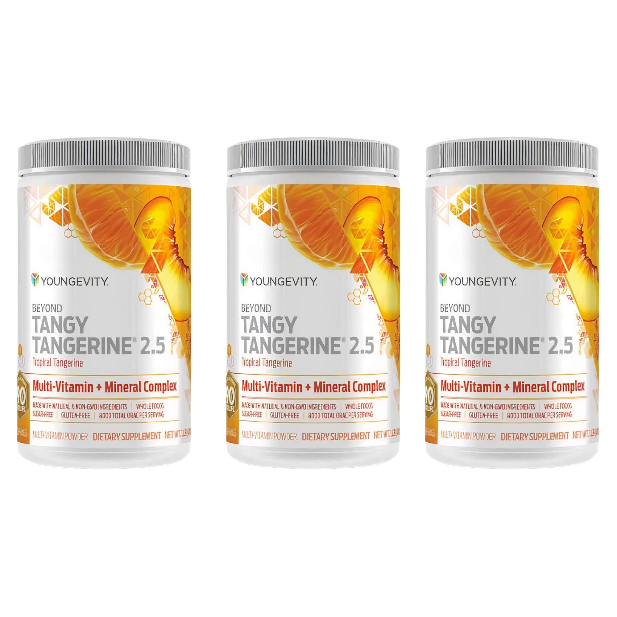 Youngevity Beyond Tangy Tangerine 2.5 Citrus Peach Fusion Multi-Vitamin (New) (3)