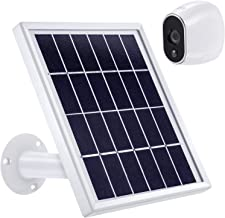 Solar Panel Compatible with Arlo HD, Power Arlo HD Security Camera Continuously with Adjustable Mount, 12 Feet/ 3.6 m Cable and Micro USB Connector, Charging with Arlo HD No More Batteries